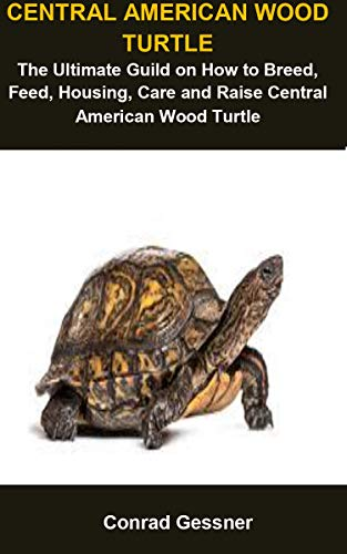 Central American Wood Turtle: Central American Wood Turtle :The Ultimate Guild On How To Breed, Feed, Housing, Care And Raise Central American Wood Turtle (English Edition)