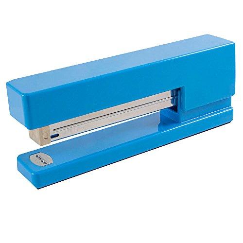 JAM PAPER Modern Desk Stapler - Blue - Sold Individually