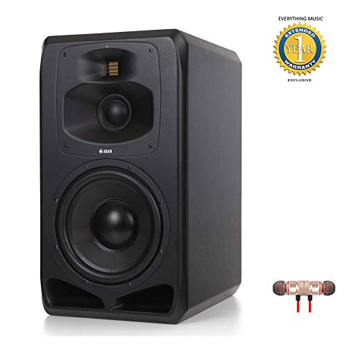 Fantastic Deal! Adam Professional Audio S5V Active Three-Way 12 Main/Midfield Studio Monitor with W...