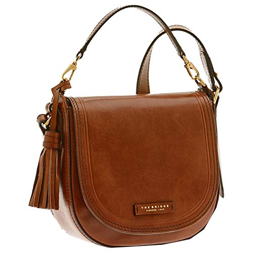 The Bridge Pearldistrict Schultertasche Rindleder 23.5 cm Marrone