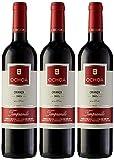 OCHOA Vino Tinto Crianza Tempranillo - 3 botellas x 750 ml - Total: 2250 ml