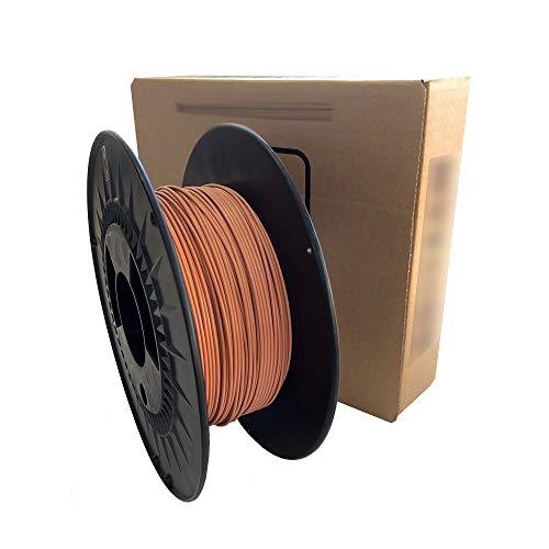 3D Printer Filament - PLA colour terracotta - 1.75 mm - Weight 1000 g (1 kg) 3D printing