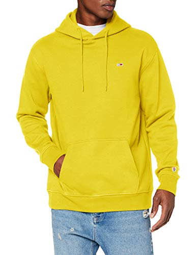 Tommy Hilfiger Tjm Tommy Classics Hoodie Pantaloni, Valley Yellow, XS Uomo