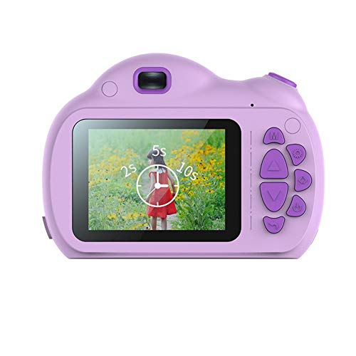 Fantastic Deal! Yybest Kids Camera Digital Cameras with 16GB SD Card Rechargeable Camera Toy 8.0 MP ...