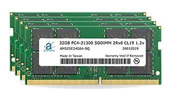 Adamanta 128GB  4x32GB  Memory Upgrade for 2019 & 2020 Apple iMac 27   iMac 19,1 iMac 20,1 iMac 20,2  Retina 5K Display DDR4 2666Mhz PC4-21300 SODIMM 2Rx8 CL19 1.2v DRAM RAM