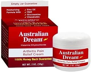 Australian Dream Back Pain Cream, 2 Ounce