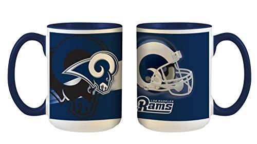 Los Angeles Rams NFL 3D Inner Color - Taza (445 ml)