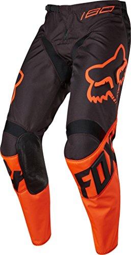 Fox 2017 Kinder Motocross / MTB Hose - 180 RACE - orange: Größe Hose: 22 US / 111-122 cm