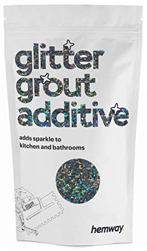 Hemway | Glitter Grout Additive - Gun Metal Holographic / 100g