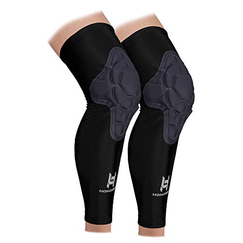 HOMZHEN Sport Knee Pads support compression leg sleeve for basketball volleyball football Outdoor...