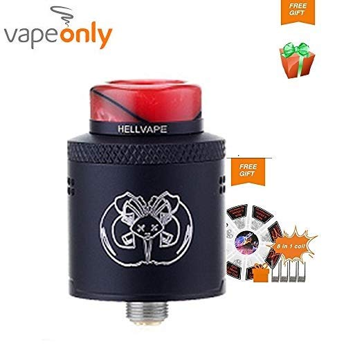 Vapeonly Hellvape Drop Dead RDA 24mm Diámetro Electrónico del Cigarrillo...