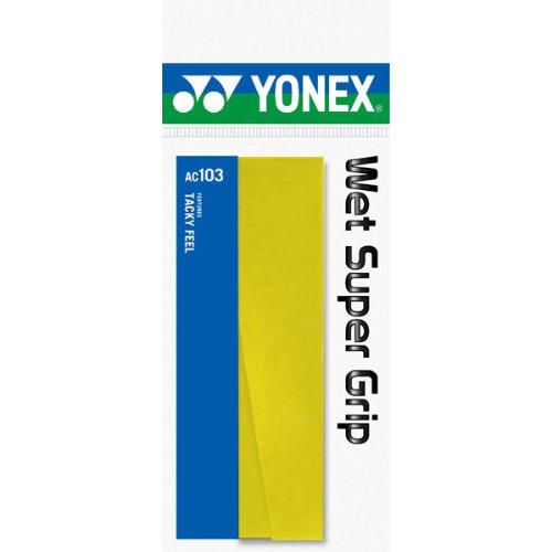 ヨネックス ウェット スーパーグリップ イエロー Y 1セット 20本:1本×20パック