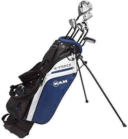 Ram Golf Junior G Force Boys Golf Clubs Set with Bag Age 10 12 product image