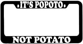 Pugs are Like Potato Chips License Frame License Plate Covers & Frames Exterior Accessories