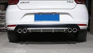 Hi Art Custom Fit Car Rear Bumper Diffuser Compatible with Volkswagen Polo