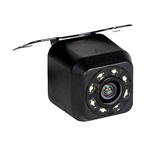 RYDEEN cm-APL3 Backup Camera with Active Parking Lines (Trajectory) and LED NightVision, Waterproof, Wide Angle, Wing Mount, Trigger Auto On/Off, for Any Cars, Pickup Trucks, SUVs, Vans (Black)