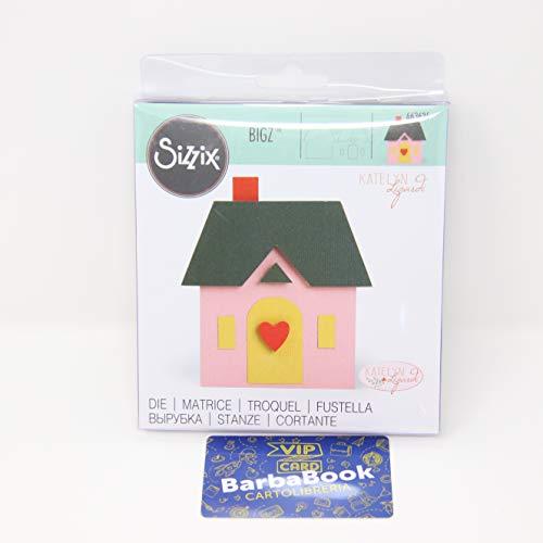 Sizzix Fustella Bigz 663625 Casa by Katelyn Lizardi, Multicolore, taglia unica