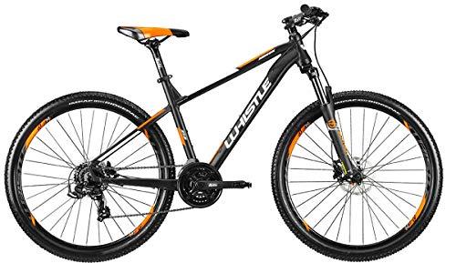 WHISTLE Bici MTB Front 27,5 MIWOK 2165 Telaio Alluminio Gruppo Shimano RD-TX500 21V Forcella SUNTOUR XCT30 Gamma 2021 (20' - 51 CM)