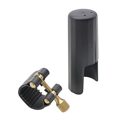 Andoer® Leather Ligature Fastener with Plastic Cap for Tenor Sax Saxphone...