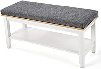 House of Living Art Entryway Storage Bench