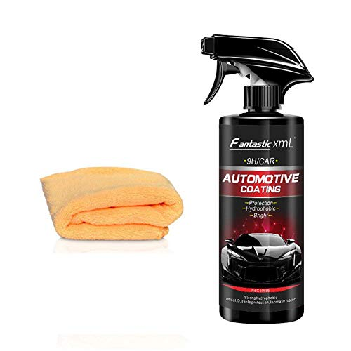 Earlyad Hochglanz Auto Nano Beschichtung Flüssige Lackpflege Autolackpflegemittel Pflegewerkzeug Anti-Scratch Polishing Maintenance Protection Paint, 500ML