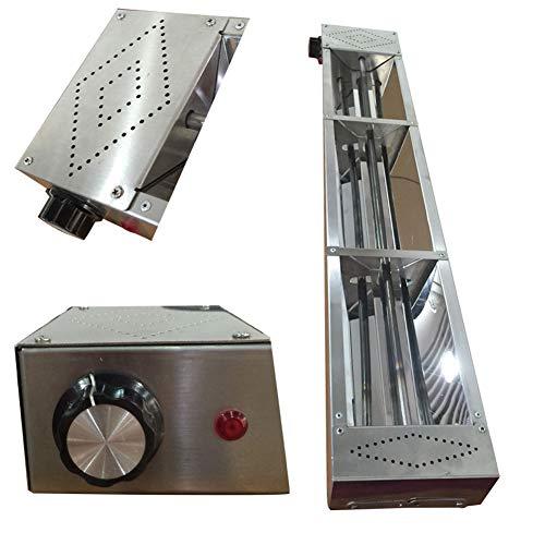 Lampe Chauffante Accrochante D'acier Inoxydable, Commercial Réchaufeur d'aliments pour les Buffet...