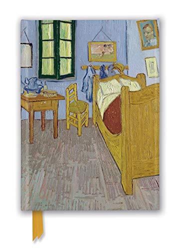 Premium Notizbuch DIN A5: Vincent van Gogh, Schlafzimmer in Arles: Unser hochwertiges, liniertes Blankbook mit festem, künstlerisch geprägtem Einband ... Notizbuch DIN A 5 mit Magnetverschluss)