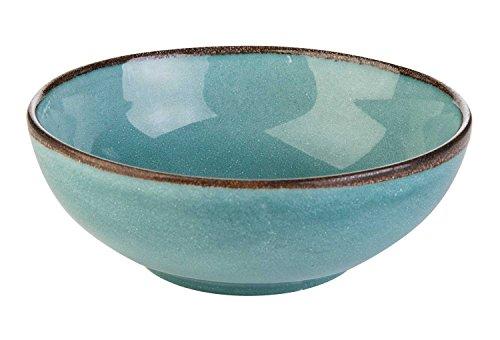 Müslischale Dessertschale Salatschüssel | Steinzeug | Blau | Ø 16,5 cm