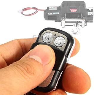 FidgetKute Front Bumper Remote Control Winch for 1/10 TRX-4 TRX4 Axial SCX10 D90 RC Crawler Remote Control