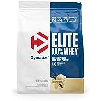 Dymatize Elite 100% Whey Protein Powder, Gourmet Vanilla