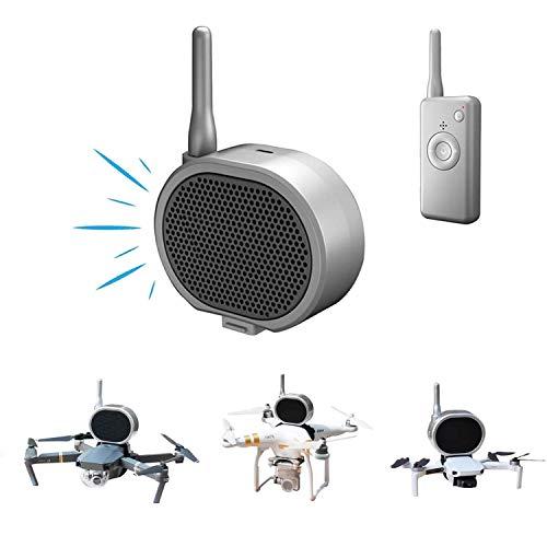 TOMAT Mini Loudspeaker Real Time Megaphone Portable Long-Distance Interference-Free Microphone Amp for DJI Mavic Mini/Mavic Air 2/Mavic Pro 2/Phantom 3 4 /Xiaomi Drone