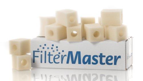 Filtermaster Aquarium-Wasserfilter BigPack Set 2   Filter für EHEIM Pickup 60   Filterpatrone   Innenfilter