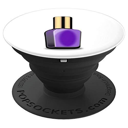 violetter Nagellack - PopSockets Ausziehbarer Sockel und Griff für Smartphones und Tablets