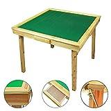 Wooden Folding Mahjong Game Table