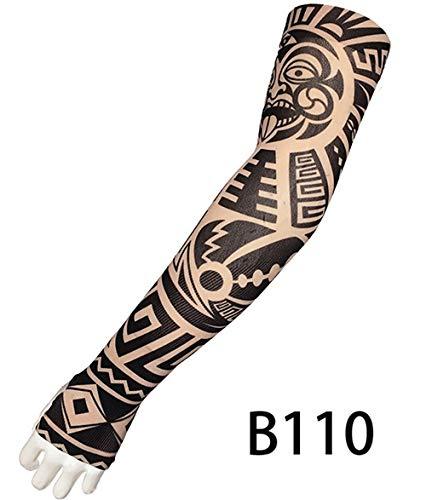 Sterrenhemel 2 stks/partij Nep Tattoo Arm Mouwen Voor Mannen Vrouwen Draak Ontwerp UV Bescherming Koeler Fietsen Outdoor Rijden Arm Mouwen Elastisch
