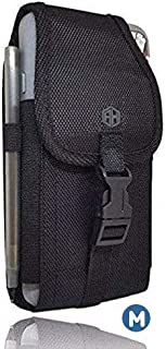 AccessoryHappy Military Grade Cell Phone Belt Case, Rugged Outdoor Pouch Carrying Clip..