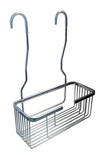 Cesta portagel para ducha fabricada en acero inoxidable para colgar el la grifería | sin taladros