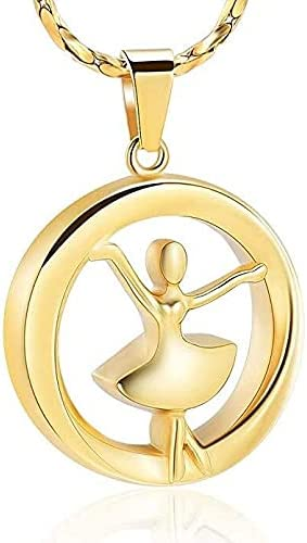 Cheap SALE Start KEMEILIAN HZSP726 Dancer Super special price Memorial Jewelry for Girl Stainle Women
