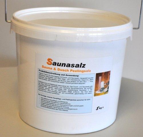 Preisvergleich Produktbild 5 kg Warda Peelingsalz,  duftneutral für Dusche und Sauna,  Totes-Meer-Salz