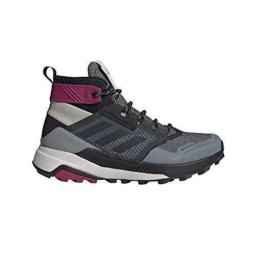 adidas Terrex Trailmaker Mid GTX W, Zapatillas de Hiking Mujer, GRIMET/NEGBÁS/BAYINT, 38 2/3 EU
