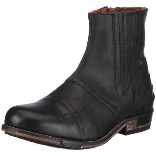 Yellow Cab Herren Chopper M Chelsea Boots, Schwarz (Black), 47