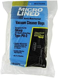 PU-2 Sharp Vacuum Replacement Bag (10 Pack)