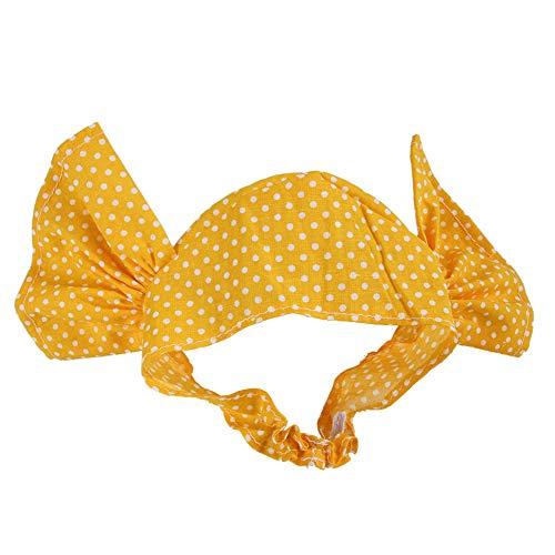 ETbotu huisdier kerst, kostuums voor honden kat - schattig snoep kleur hoofddeksels Cosplay kostuum hoed voor huisdier kat, Geel Stip