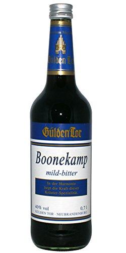 Boonekamp Magenbitter Kräuterlikör 40% vol Gülden Tor (1 x 0.7 l)