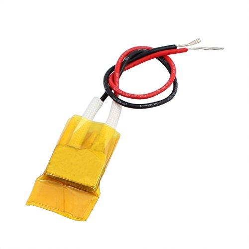 X-Dr 12V 140C 1,5-4W Niederdruck-Mini-PTC-Heizelement-Thermostatheizplatte (098fce9f4af5ae1844bf65cc64f5869b)