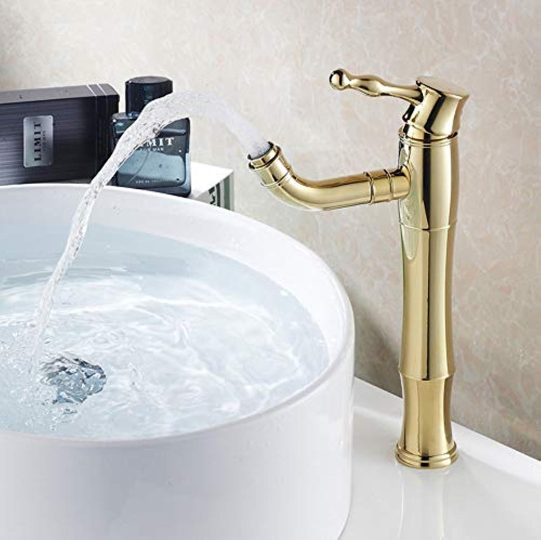 YUJING 360 Grad Swivel Hohe Messing Badezimmer Vanity Sink Becken Wasserhahn Mischer Wasserhhne