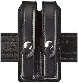 Safariland Duty Gear Slimline Double Magazine Pouch with Flap STX Black Glock 17, 22, 34, 34; Sig P229