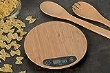 Balance de cuisine numérique en bois max 5 kg 20 cm