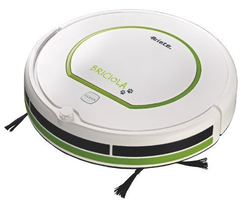 Ariete Briciola Robotic Vacuum Cleaner, 25 Watt, Green by Ariete