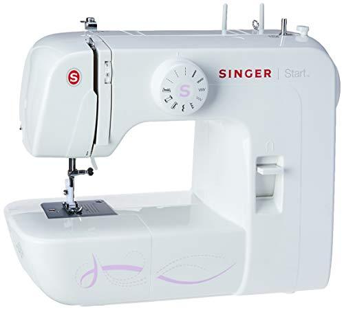 Maquina de Costura Start 1306 127v, Singer, Branco, Médio